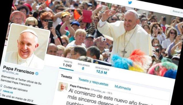El Papa supera los cuarenta millones de seguidores en Twitter