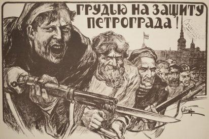 ¿Dónde estaba la Iglesia durante la Revolución Bolchevique?