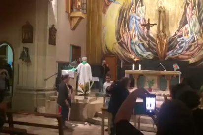Una iglesia de Tarragona se convirtió en centro de escrutinio de votos el 1-O