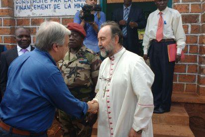 """Juanjo Aguirre, a Antonio Guterres: """"Hay que bloquear a los violentos"""""""
