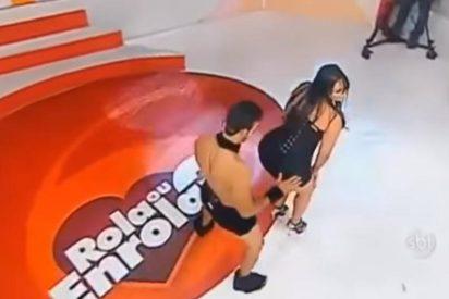 [VIDEO] El twerking de esta voluptuosa brasileña en televisión arrasa en las redes