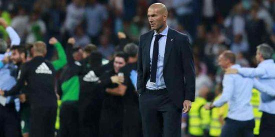 Zidane se enfrenta a un posible 'incendio' en el vestuario del Real Madrid