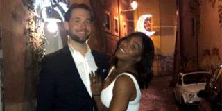 La campeona Serena Williams se casa con el empresario Alexis Ohanian
