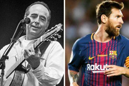 Serrat está preocupado por Messi