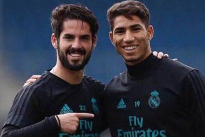 Achraf se cae de la lista del Real Madrid-UD Las Palmas