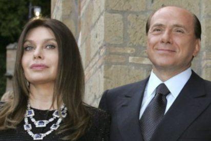 Veronica Lario, la ex de Berlusconi, tiene que devolver los 60 millones de pensión que le pago el 'capo'