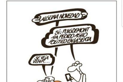 El prófugo Puigdemont pide a la Justicia belga escolta para venir a votar el 21-D