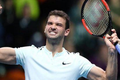 El 'bello' Dimitrov gana la Copa de Maestros