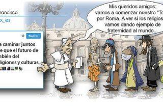 """Agustín de la Torre y los """"tweets"""" del Papa"""