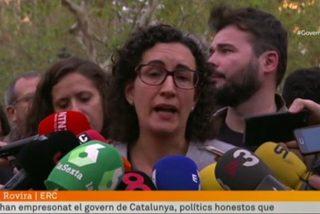 La llorica portavoz de Junts pel Sí y su incendiario discurso en TV3 contra España
