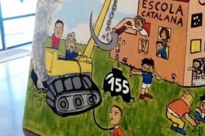 Otra bochornosa manipulación más de la escuela en Cataluña