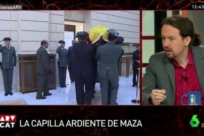 Con esta voz de monaguillo desprecia Iglesias a la familia de Maza en pleno velatorio