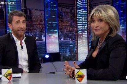 Julia Otero se pone a agitar 'mentiras' y deja a Pablo Motos hormigueando