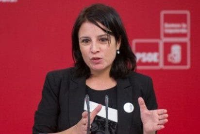 Dan la del pulpo a la socialista Adriana Lastra en venganza por decir que Albert Rivera es un 'José Antonio'
