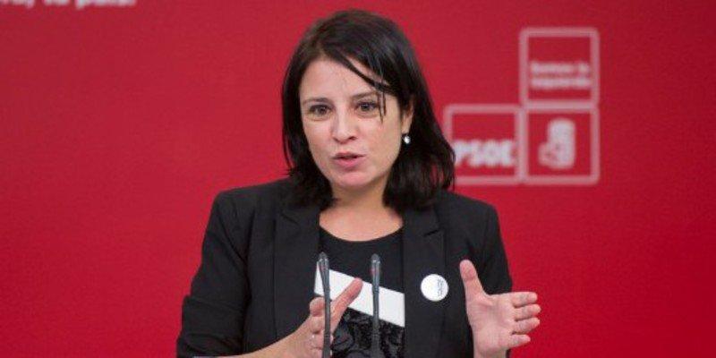 El falso argumento de Adriana Lastra para reducir la pena a independentistas