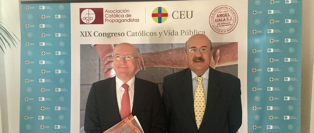 Los principales líderes de la acción social de la Iglesia, protagonistas del XIX 'Católicos y Vida Pública'