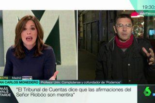 La marranada de Monedero a Mamen Mendizábal por 'compararle' con Aguirre