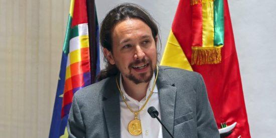 Así defiende Pablo Iglesias la independencia catalana, vasca y gallega ante sus compinches bolivarianos