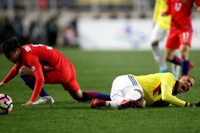 [VIDEO] El gesto racista a los jugadores surcoreanos de Edwin Cardona