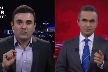 [VIDEO] El terremoto de Irak sacude una entrevista de televisión en directo