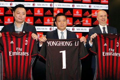El propietario chino del Milan no es quien decía ser según 'The New York Times'