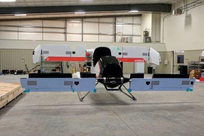 Así es el prototipo de tamaño real del taxi volador de Airbus