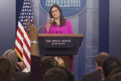 [VIDEO] La Casa Blanca pide a los periodistas que 'den las gracias' antes de formular preguntas