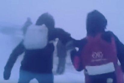[VIDEO] Así fue el épico regreso a casa de unos escolares siberianos