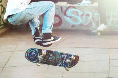 [VIDEO] Así se rompió una pierna este chico intentando un truco con el 'skate'