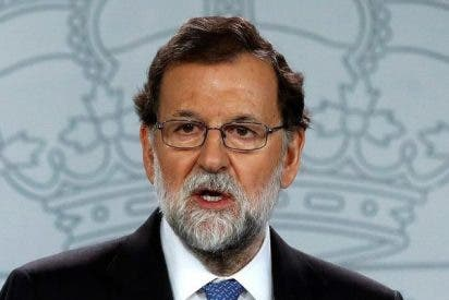 Mariano Rajoy pisa fuerte