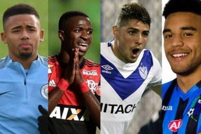 """Estos son los 4 prodigios que según la revista France Football """"dominarán el fútbol en el futuro"""""""