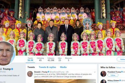 ¿Cómo puede Donald Trump tuitear desde China si allí Twitter está bloqueado?