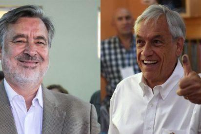 El expresidente Sebastián Piñera y el oficialista Alejandro Guillier van a segunda vuelta en diciembre de las Elecciones en Chile
