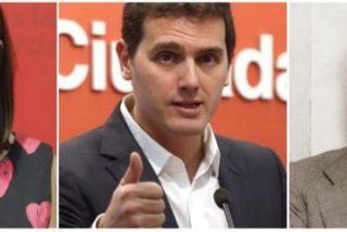 La número dos del PSOE, Adriana Lastra, la lía parda al comparar a Albert Rivera con José Antonio Primo de Rivera en una rueda de prensa