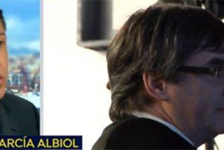 """Albiol tritura a Puigdemont y le reta a un careo: """"Es un cobarde que huye como un conejo y no puede insultarnos"""""""