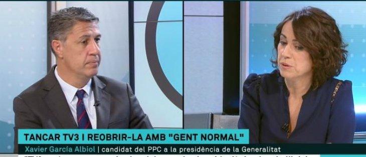"""La escandalosa 'encerrona' de TV3 a Albiol: """"¿Considera que los trabajadores de esta casa no somos normales?"""""""