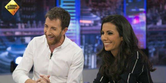 """Ana Pastor pone 'tibio' a su marido Ferreras ante Pablo Motos: """"Él tiene ventaja: a veces me encuentro en directo en su programa el invitado que yo quería"""""""