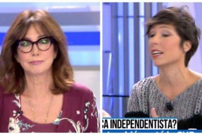 """El asombroso caso de la reportera que se convierte en tertuliana para rajar de Lamela: """"No desinformemos, Marta"""""""