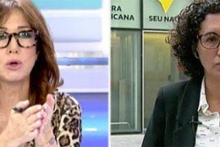 """Ana Rosa fulmina a la 'llorica' Rovira por vender la bazofia de que el Estado amenazaba con muertos: """"¡Puigdemont se lo ha inventado!"""""""