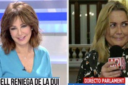 """Otro momentazo de Mayka Navarro poniéndole """"ojitos golosones"""" al abogado de Carme Forcadell en directo"""