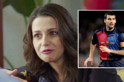 """Inés Arrimadas: """"Cuando era pequeña, llevaba al colegio una carpeta con fotos de Guardiola"""""""