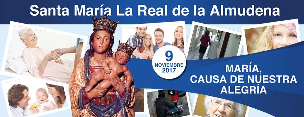 Madrid se vuelca en las celebraciones de su patrona, la Virgen de la Almudena