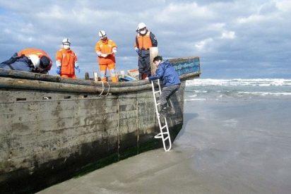 Barcos fantasma repletos de esqueletos llegan a Japón desde Corea del Norte