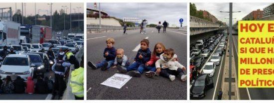 El Gobierno de Rajoy, muerto de miedo, permite la huelga salvaje y da alas a la 'borroka' independentista