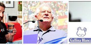 """El diario del dueño de Yatekomo tacha a Borrell y a Frutos de """"despojos"""" y """"zombis"""" por defender la unidad de España"""