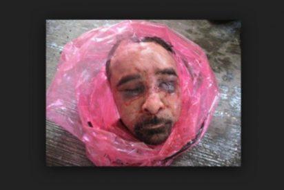 Dejan una cubo de hielo con dos cabezas humanas y una nota de amenaza en Televisa