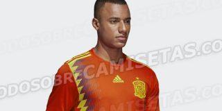 ¿Es esta la camiseta que lucirá España en el Mundial?