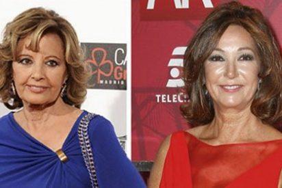 Ana Rosa Quintana le pone los puntos sobre las íes a la 'bocachancla' de María Teresa Campos