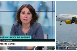 ¡Más morro que un avión! La TV3 compra la gran mentira de la pasajera separatista de Vueling