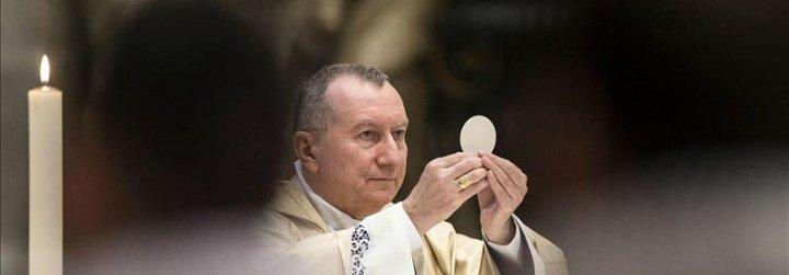 """Cardenal Parolin: """"Hoy no podemos distinguir ser religioso de ser interreligioso"""""""